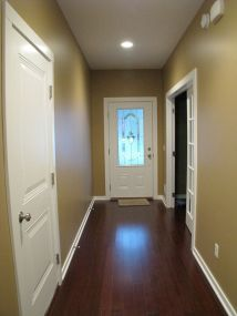 2437 Front foyer, door on right leads to office