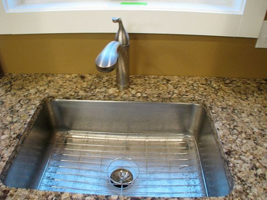 2437 Kitchen sink with high rise faucet