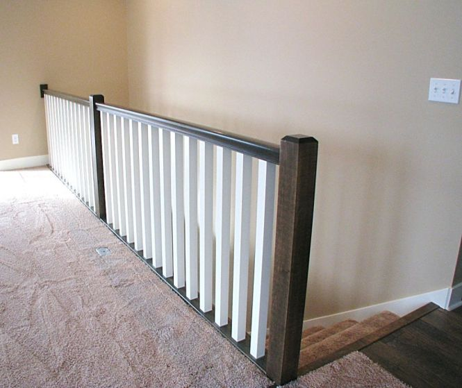 2515 Railing on stairwell to lower level family room