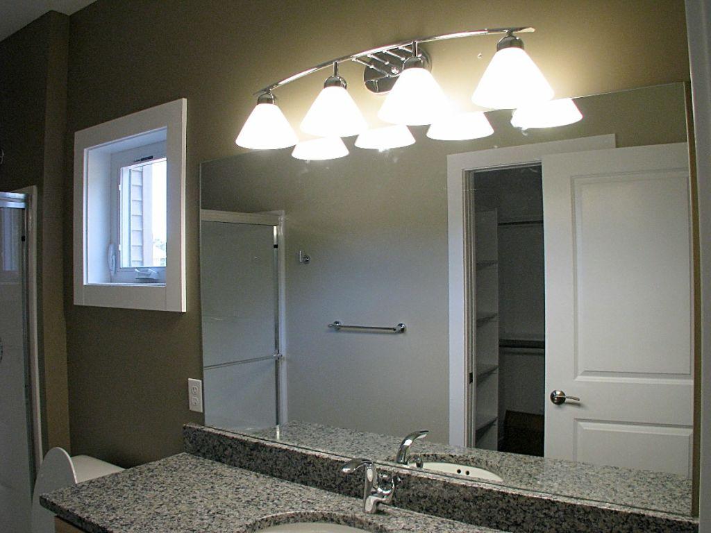 Bathroom Lighting at Sawgrass Condos in Holland, MI