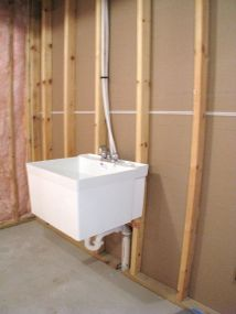 2515 Laundry sink in lower level