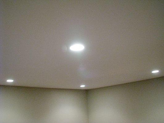 2506 Lower level family room recessed lighting