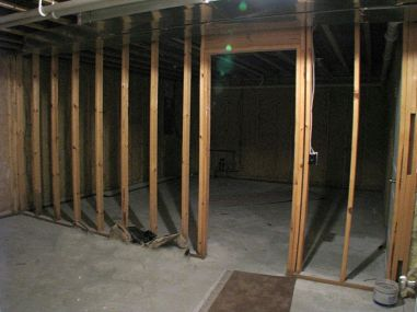2506 lower level unfinished storage rooms