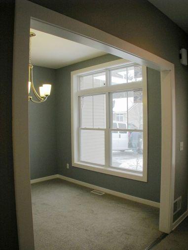 2415 Dining room, Open door frame