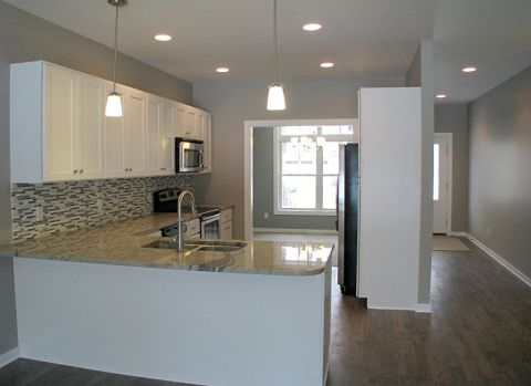 2415 Kitchen with dining room in background