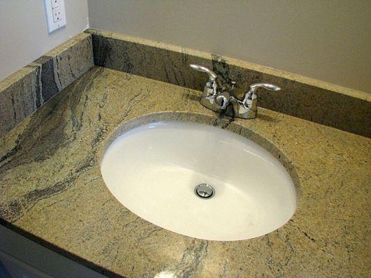 2415 Sink & Faucet on vanity