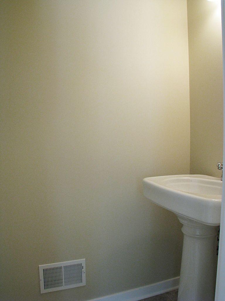 2518 Pedestal sink in main floor half bath