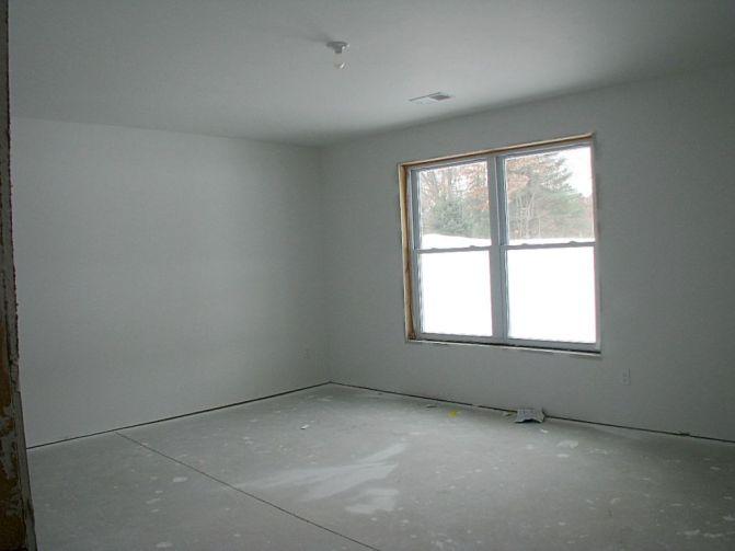 2518 Lower level half finished bedroom