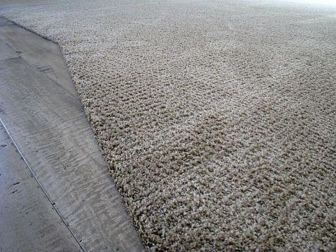 Laminate floor and carpet