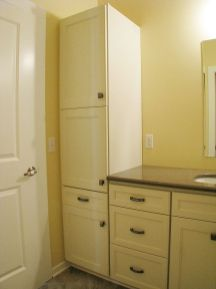 Linen closet in master bath