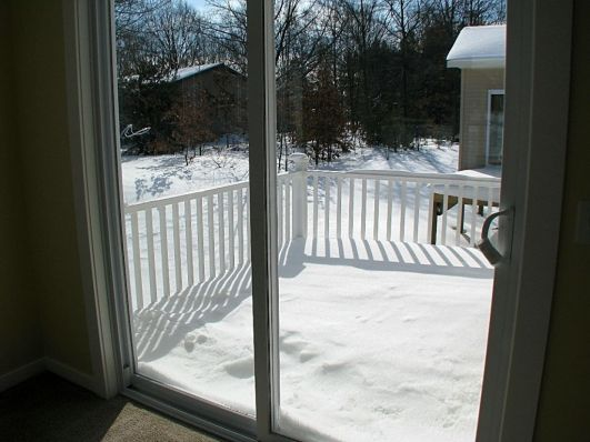 Close up of deck