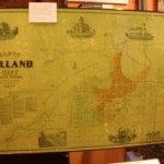 Holland MI downtown Old plat map historical photo