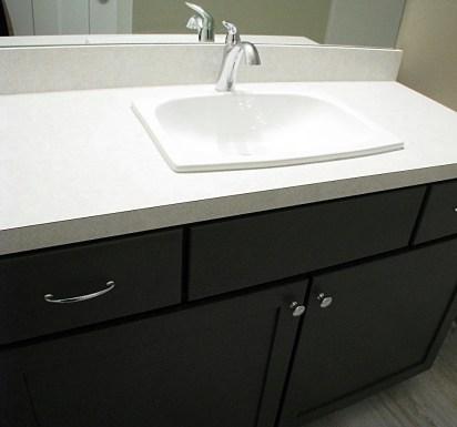Full bath-lower level-Vanity