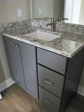 Half bath- cabinet
