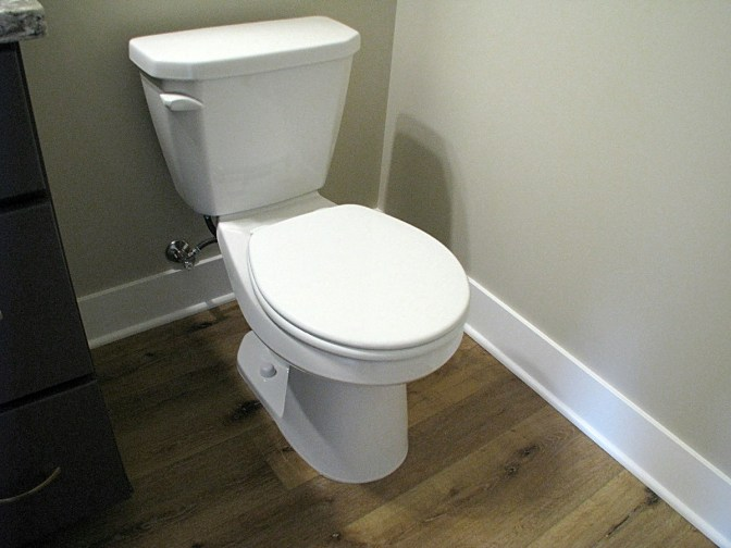 Half bath-toilet-6407