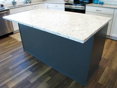 Kitchen-Center island counter