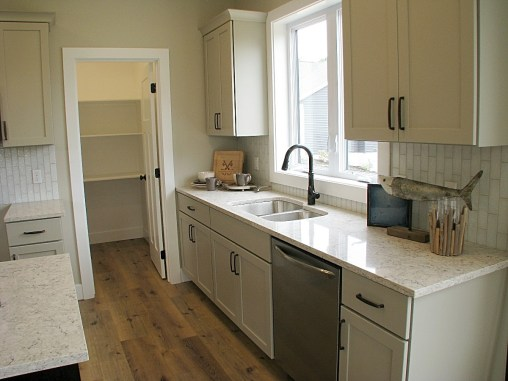 Kitchen cabinets to pantry-02