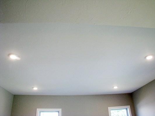 Living room progress LED lighting