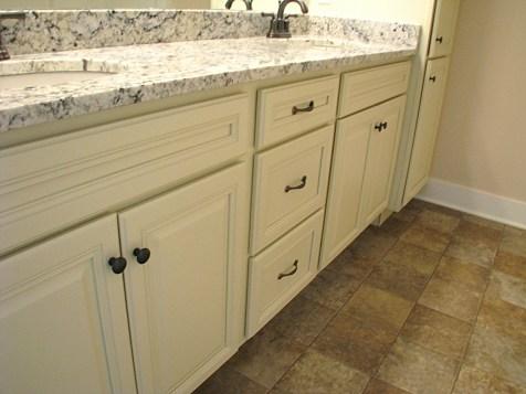 Master bath-granite counter