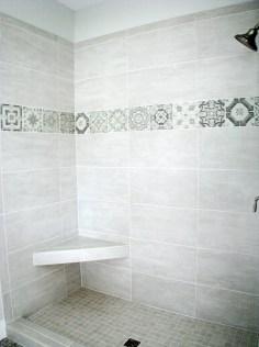 Plumbing-Master-tile shower-seat