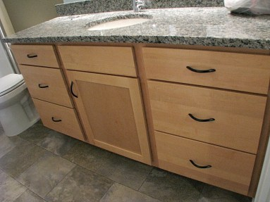 cabinets blonde maple