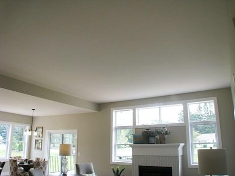 living room-10' ceiling