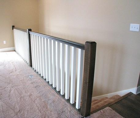 railing wood & paint