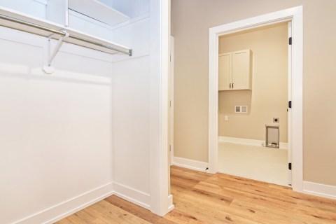 Laundry & Hall Closet