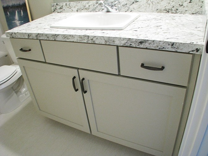 lower bath vanity