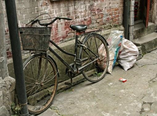 Back Alley Bicycle, Shanghai