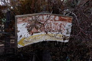 Old Tecate advertising sign