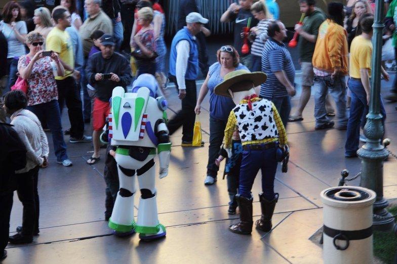 Buzz & Woody