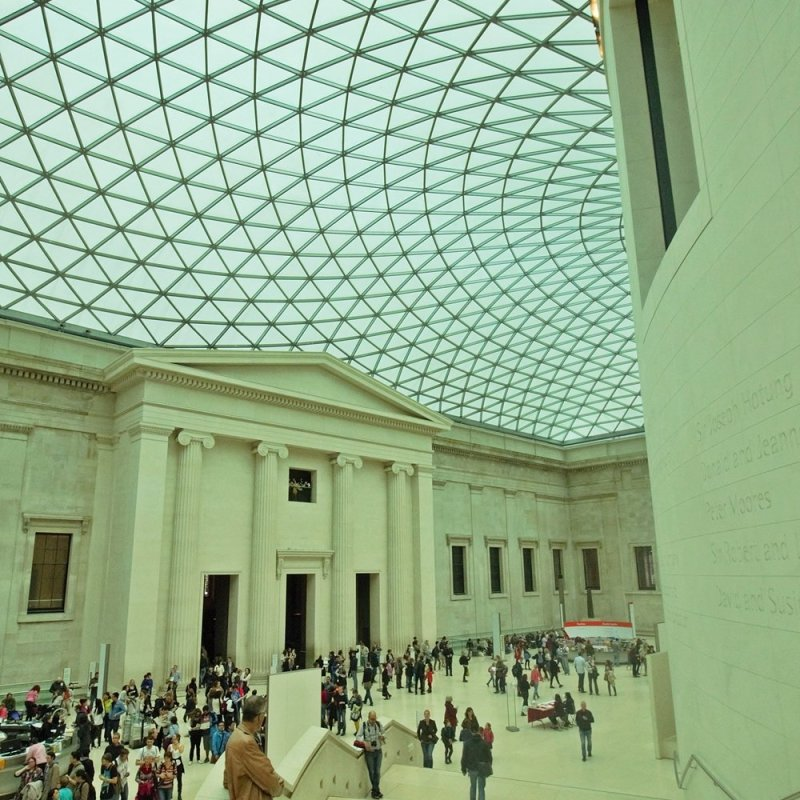 The artium at The British Museum
