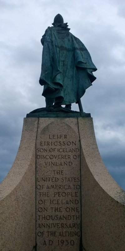 Leif Erikson, founder of Iceland and North America, way before Columbus ever hit the West Indies