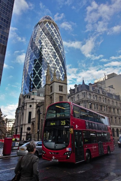 The Gherkin, Financial District, London