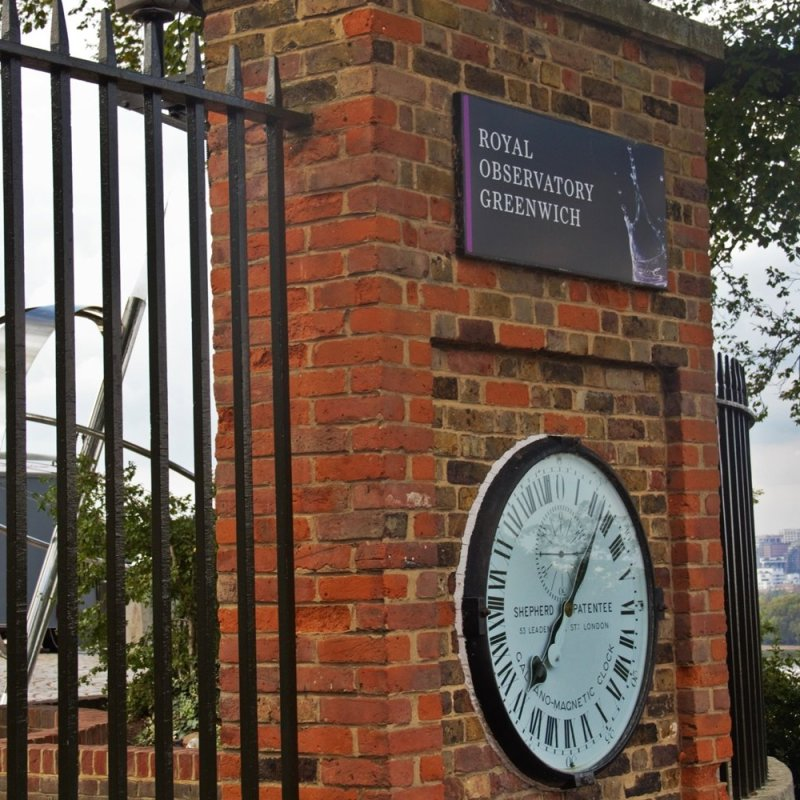 The Royal Observatory, Greenwich - aka The Prime Meridian, 0° Longitude