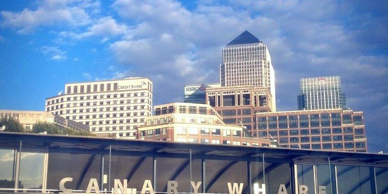 Canary Wharf docks