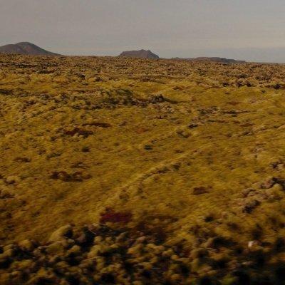 The Reykjanes Peninsula terrain