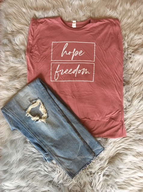 hope freedom t shirt