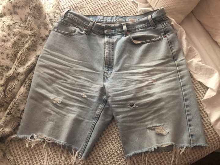 Now these are jean shorts