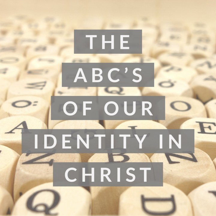 It's imperative that we understand our identity in Christ