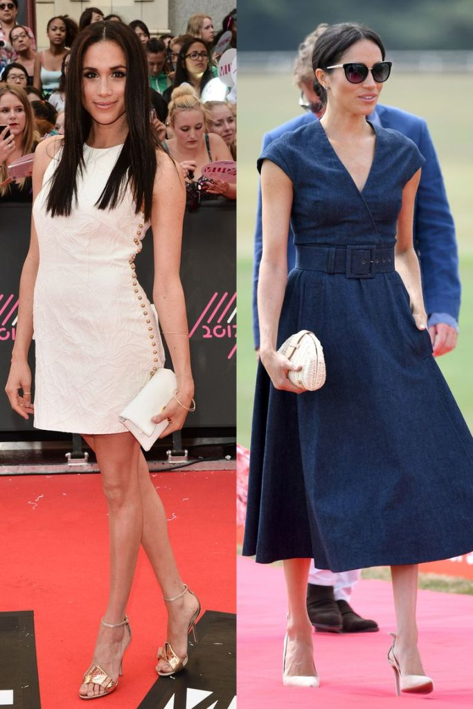 Meghan Markle Style Before and After Via ELLE