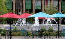 Umbrellas and Architecture at Balboa Park, Photos by SJF Communications