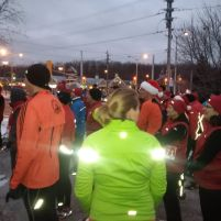 Heading to the start line