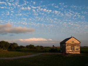 Palmer-Epard Cabin at Homestead National Monument, Nebraska