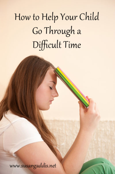 How to Help Your Child Go Through a Difficult Time {Thursday Therapy}