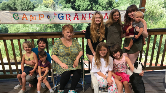 2017 Camp Grandma Ideas and Tips post by Susan Gaddis
