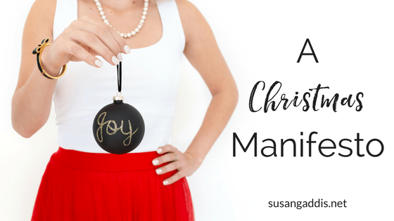 Do You Need a Christmas Manifesto?