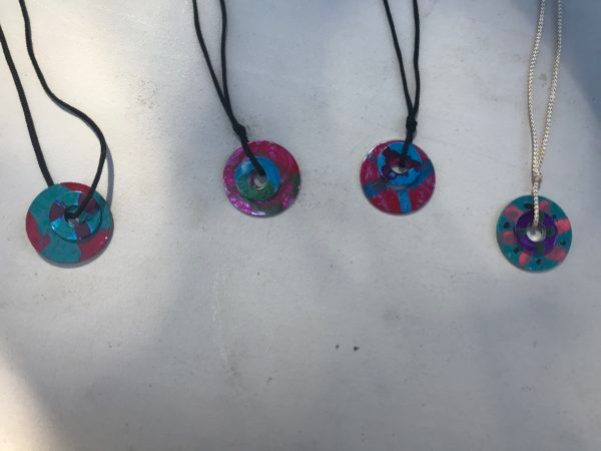 Camp Grandma 2018 necklaces