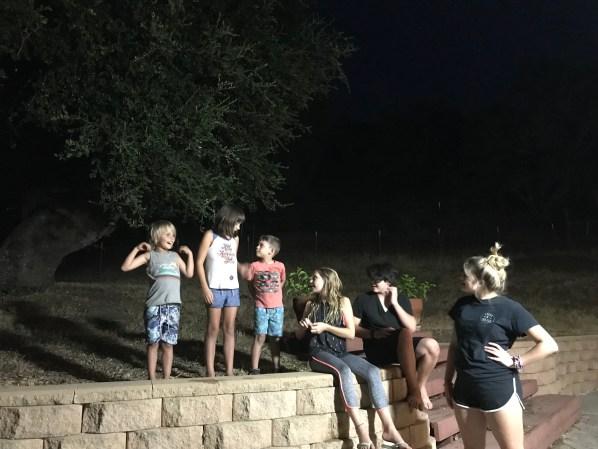 Camp Grandma 2018 parent's night